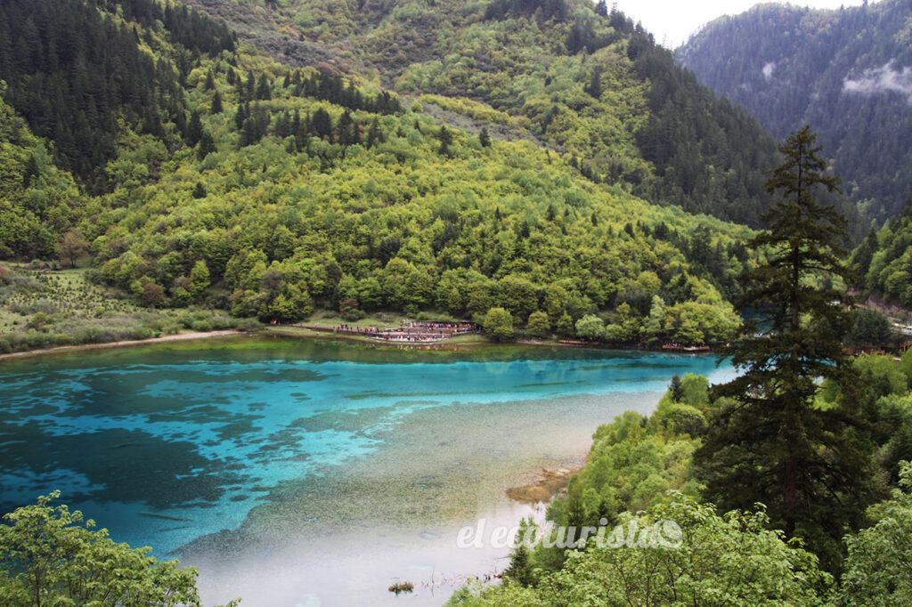 """alt=""""Parque nacional Jiuzhaigou."""""""