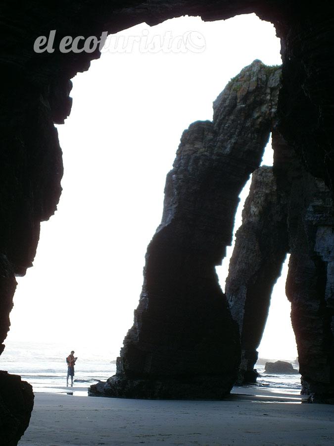 "alt=""Monumento natural Playa de las Catedrales."