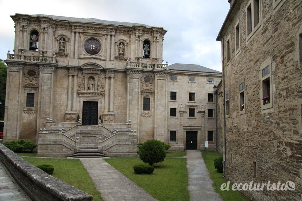 """alt=""""monasterio de Sarria"""""""