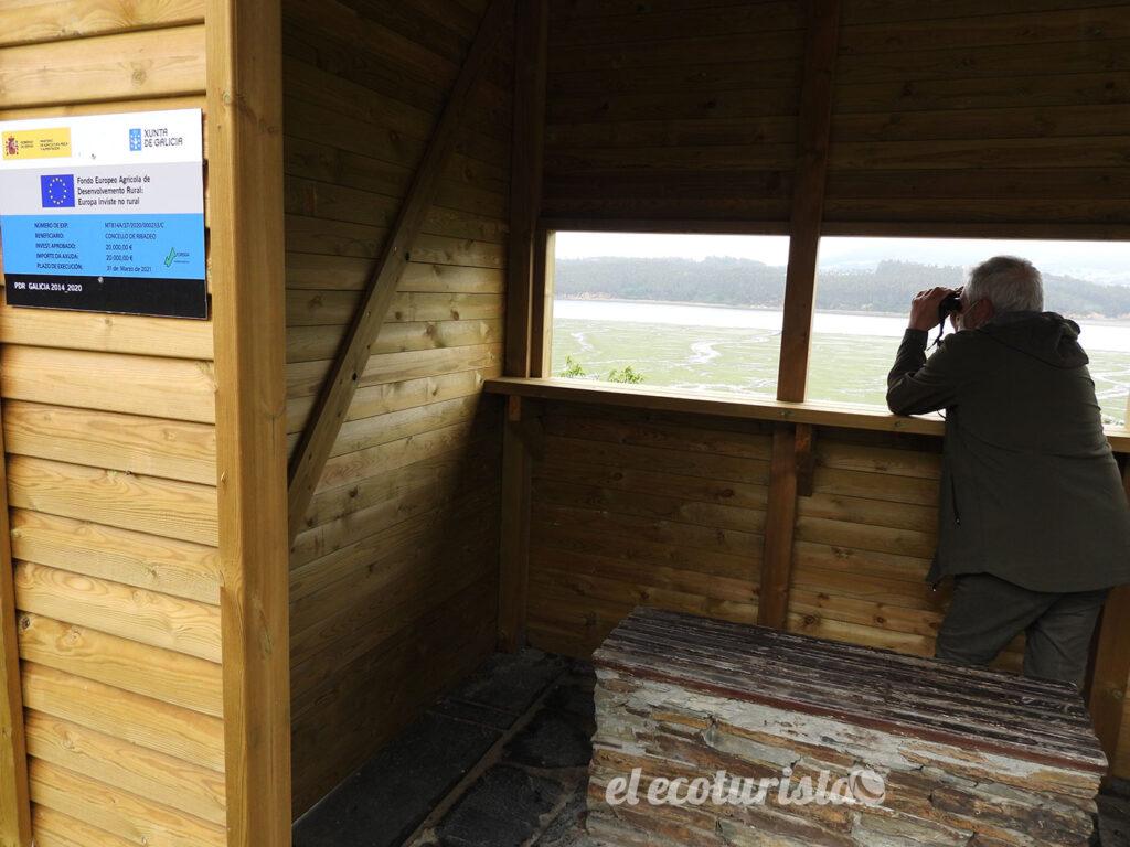 """alt=""""Observatorio ornitológico de la Ría del Eo en Ribadeo"""""""