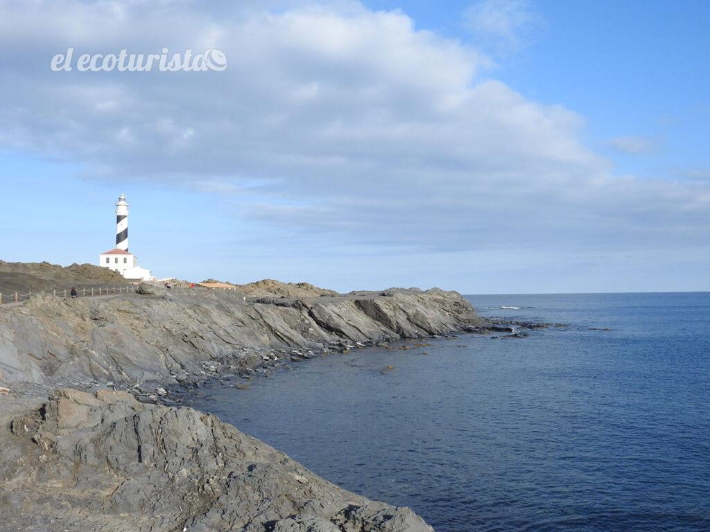 """alt=""""Faro en el Cabo de Favàritx"""""""